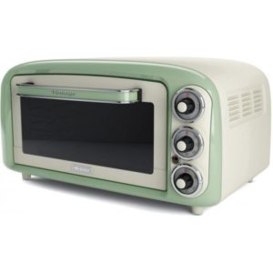 0979/04 Vintage Electric Oven 18L GREEN