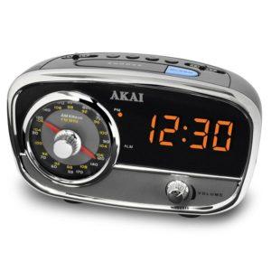 CE1401 Αναλογικό Ραδιόφωνο Pολόϊ Ξυπνητήρι