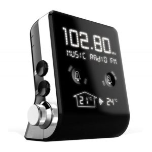 CT390 Ρολόι - ξυπνητήρι με ραδιόφωνο RDS