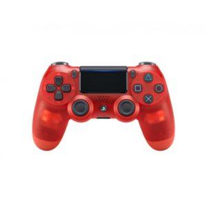 Dualshock 4 Controller Crystal Red v2