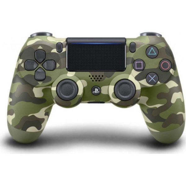 DualShock 4 Controller Green Camouflage (New)