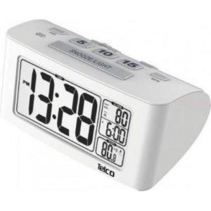 Ε0117S Ρολόι Ξυπνητήρι Λευκό (03.032)