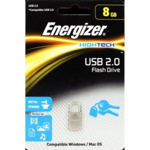 FUSMTH008R USB 2.0 ΜΕΤΑΛΛΙΚΟ FLASH DRIVE 8GB
