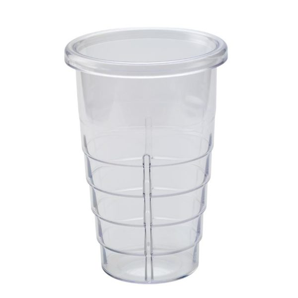 Κρεμαστό πλαστικό ποτήρι φραπιέρας 900 ml