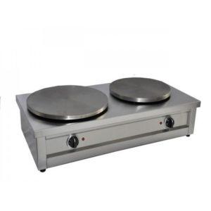 Κρεπιέρα διπλή επαγγελματική Φ35 x 2 230V