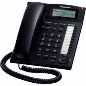 KX-TS880EXB Ενσύρματο τηλέφωνο Μαύρο