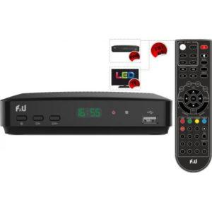 MPF3572HU Ψηφιακός Δέκτης MPEG4 με Τηλεχειριστήριο 2 σε 1
