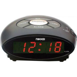 NR10BK Μαύρο Ψηφιακό Ξυπνητήρι