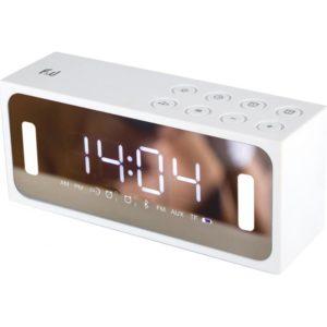PBT2128W Φορητό Ραδιόφωνο/Ξυπνητήρι & Media Player με Bluetooth