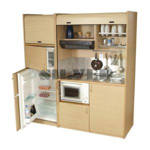 Πολυκουζινάκι 190 με φουρνάκι & μεγάλο ψυγείο