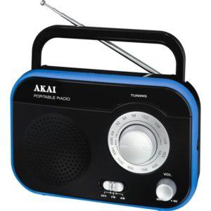 PR003A-410B Μαύρο Φορητό Ραδιόφωνο 1W