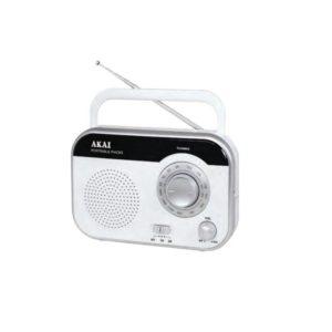 PR003A-410W Λευκό Φορητό Ραδιόφωνο 1W
