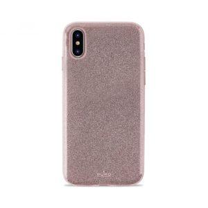 Θήκη Shine για iPhone X – ροζ χρυσαφί