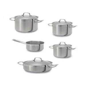 Σετ Ανοξείδωτα Μαγειρικά Σκεύη 5 Τεμαχίων (S.305)