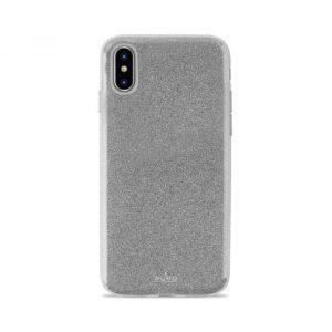 Θήκη Shine για iPhone X – ασημί