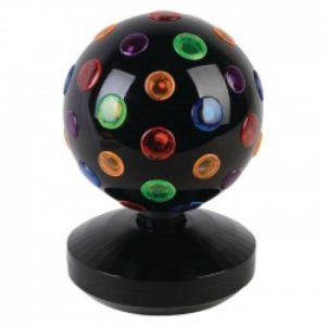VL BALL 01 Πολύχρωμη περιστρεφόμενη disco ball