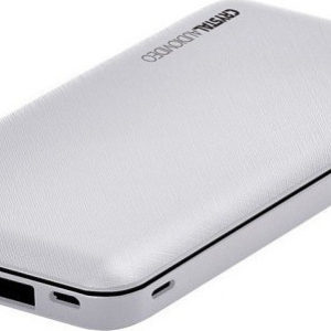 CRYSTAL AUDIO Powerbank Λευκό euragora.gr