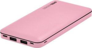 CRYSTAL AUDIO Powerbank Pink PBK-10P euragora.gr