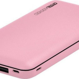 CRYSTAL AUDIO Powerbank Pink PBK-10P euragora.gr