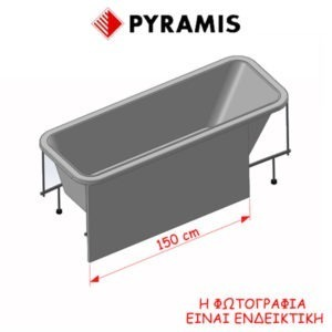 Πάνελ Kάλυψης Μπανιέρας Pyramis 021103801
