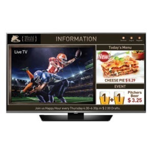 Special COmmercial TV LG 43LX540S
