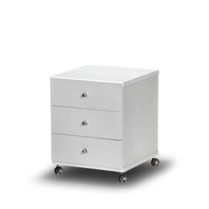 συρταριέρα-viometale-ersi-τροχήλατη-λευκή