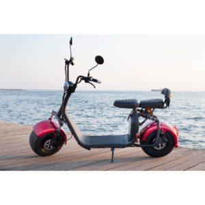 Ηλεκτρικό Scooter Holiday City 2000w Με Ασημί Ζάντες Full extra