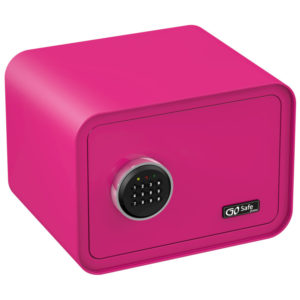 Olympia GOSAFE100 C GR Ροζ Χρηματοκιβώτιο με ηλεκτρονική κλειδαριά 26 x 35 x 28 cm