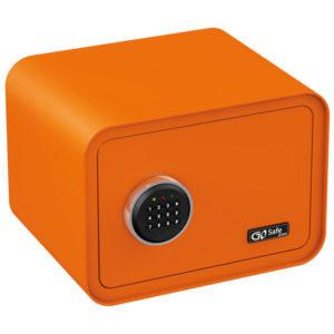 Olympia GOSAFE100 C GR Πορτοκαλί Χρηματοκιβώτιο με ηλεκτρονική κλειδαριά 26 x 35 x 28 cm