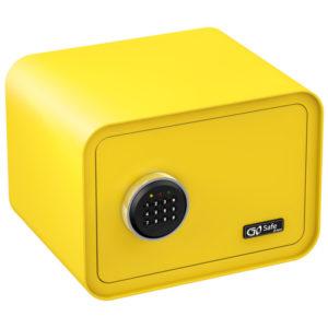 Olympia GOSAFE100 C GR Κίτρινο Χρηματοκιβώτιο με ηλεκτρονική κλειδαριά 26 x 35 x 28 cm