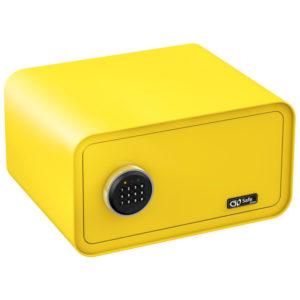 Olympia GOSAFE200 C GR Κίτρινο Χρηματοκιβώτιο με ηλεκτρονική κλειδαριά 24 x 43 x 36 cm