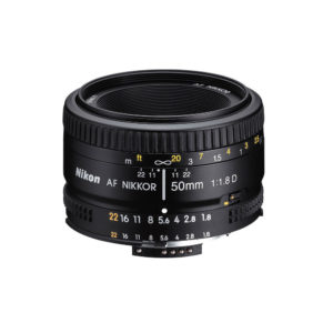 Nikon AF Nikkor 50mm f/1.8D JAA013DA
