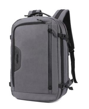 ARCTIC HUNTER τσάντα πλάτης B-00183-GY με θήκη laptop, αδιάβροχη, γκρι