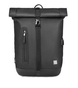 ARCTIC HUNTER τσάντα πλάτης B-00283-BK με θήκη laptop, αδιάβροχη, μαύρη