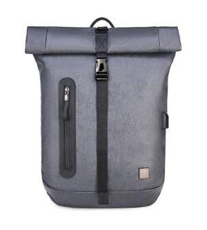 ARCTIC HUNTER τσάντα πλάτης B-00283-GY με θήκη laptop, αδιάβροχη, γκρι