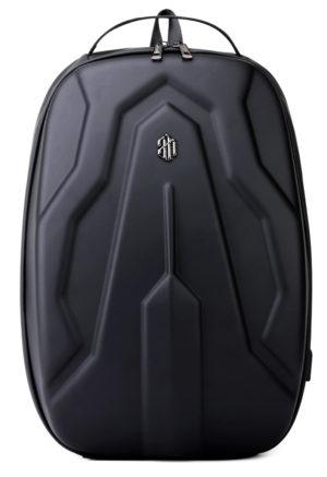 ARCTIC HUNTER τσάντα πλάτης με θήκη laptop eva πρόσοψη, αδιάβροχη, μαύρη