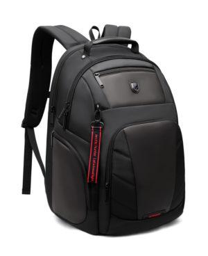 ARCTIC HUNTER τσάντα πλάτης B-00341-BK με θήκη laptop, μαύρη