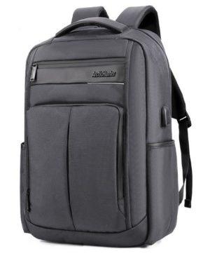 ARCTIC HUNTER τσάντα πλάτης B00121C-GY με θήκη laptop, αδιάβροχη, γκρι