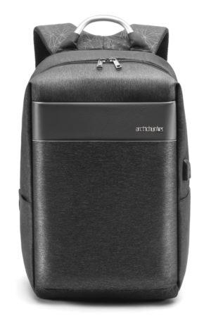 ARCTIC HUNTER τσάντα πλάτης B00218-GY με θήκη laptop, αδιάβροχη, γκρι