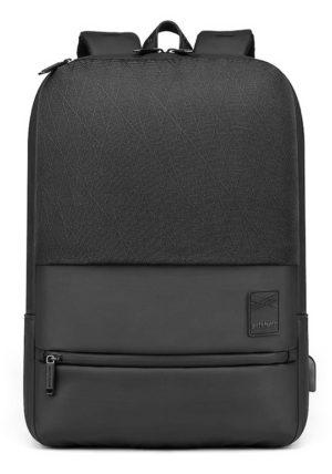 ARCTIC HUNTER τσάντα πλάτης B00360-BK με θήκη laptop, USB, μαύρη