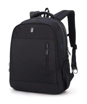 ARCTIC HUNTER τσάντα πλάτης B180018-BK με θήκη laptop, αδιάβροχη, μαύρη