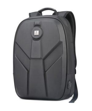 ARCTIC HUNTER τσάντα πλάτης GB00321-BK-CK με θήκη laptop, eva, μαύρο CK
