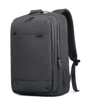 ARCTIC HUNTER τσάντα πλάτης GB00328 με θήκη laptop, USB & 3.5mm, δίχρωμη