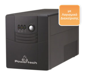 POWERTECH UPS Line Interactive PT-1500, 1500VA, 900W