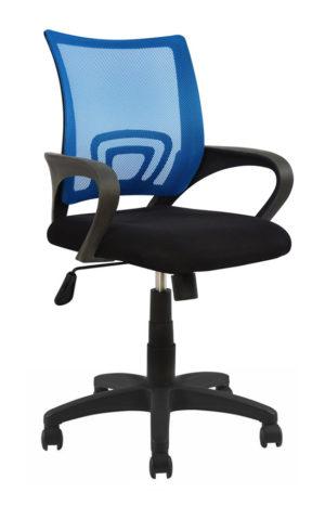 POWERTECH Καρέκλα γραφείου PT-727, ρυθμιζόμενη, με υποβραχιόνια, μπλε