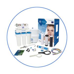 Aqua Filter RX65259516 Με Αντλία Οικιακή Μονάδα Αντίστροφης Όσμωσης 7 Σταδίων