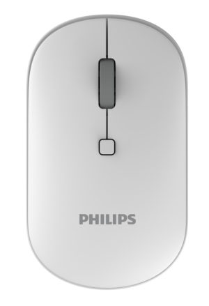 PHILIPS ασύρματο ποντίκι SPK7403, 2000DPI, 4 πλήκτρα, λευκό