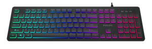 PHILIPS gaming πληκτρολόγιο SPK8264, ενσύρματο, RGB ambiglow, μαύρο