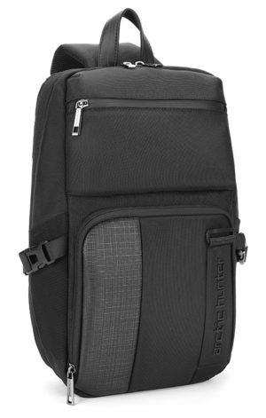 ARCTIC HUNTER Τσάντα Crossbody XB00096-BK, αδιάβροχη, μαύρη
