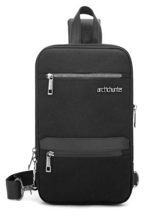 ARCTIC HUNTER Τσάντα Crossbody XB00109-BK, πτυσσόμενη, μαύρη